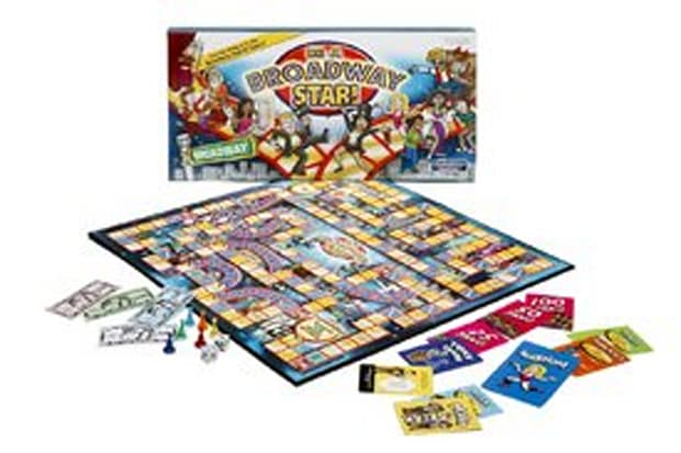 'Be A Broadway Star' board game