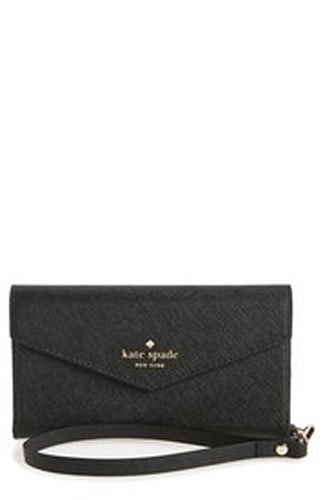 Kate Spade iPhone 7 leather wristlet