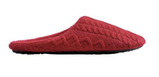 Joe Fresh Cable Knit Slippers