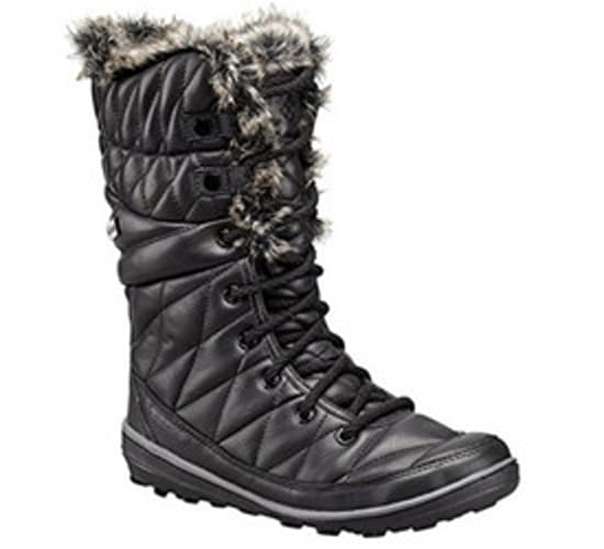Columbia Omni-Heat Leather After Dark Snow Boot