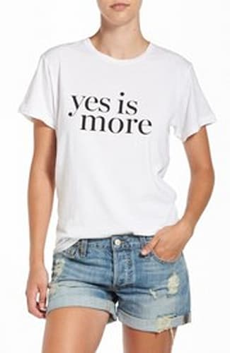 Sincerely Jules 'Yes Is More' Graphic Tee