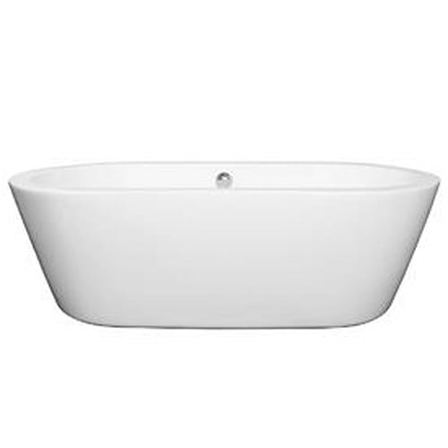 Wyndham Collection Mermaid Center Drain Soaking Tub