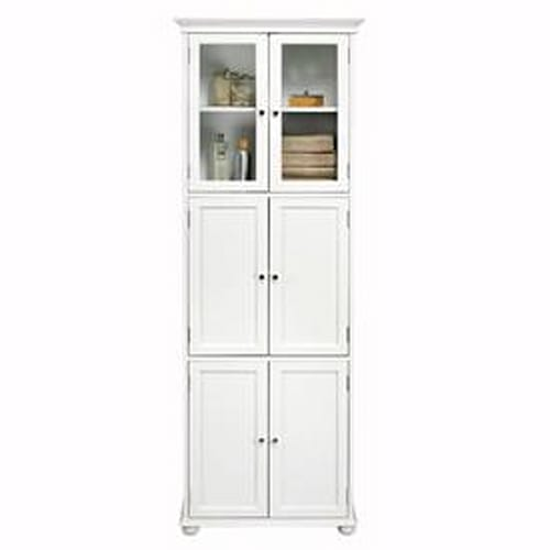 Home Decorators Collection Hampton Bay 6-Door Tall Cabinet