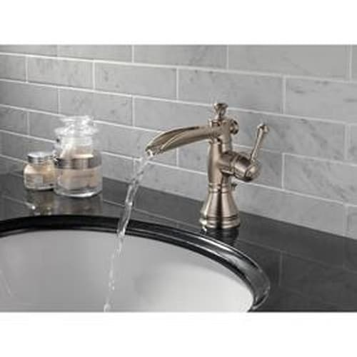 Delta Cassidy Open Channel Spout Bathroom Faucet