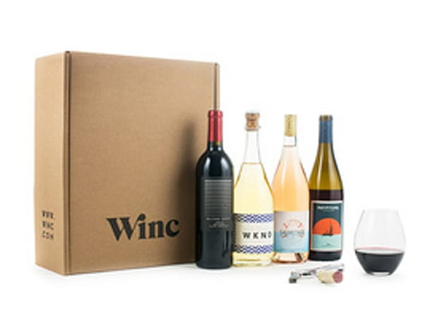 Winc Wine Delivery: 4 Bottles for $26