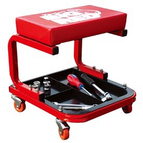 Creeper Seat with Tool Storage