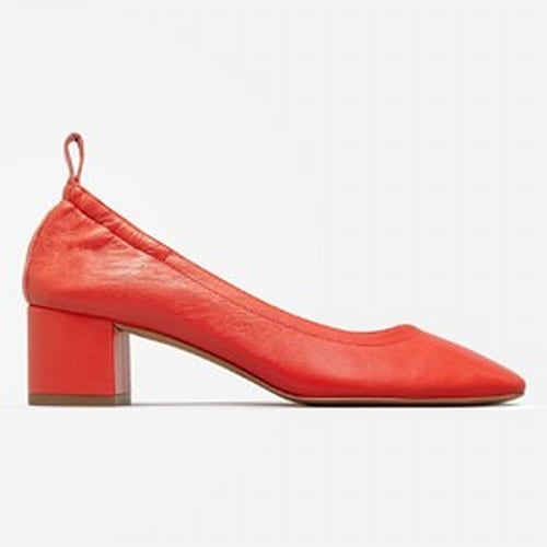 The Day Heel - Bright Red
