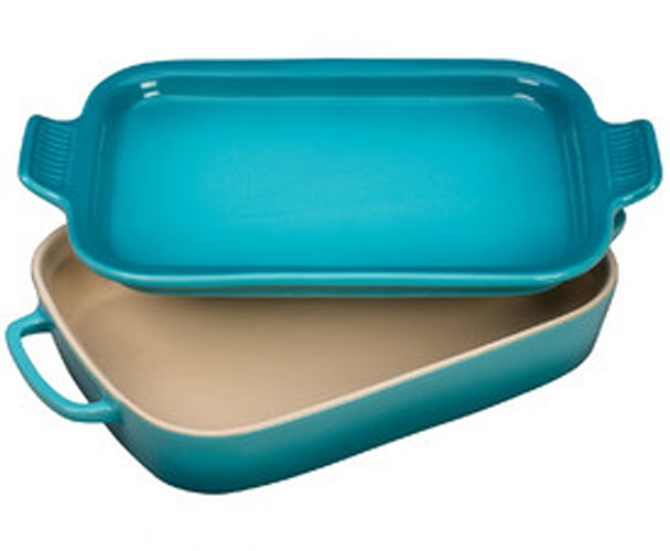 Le Creuset Rectangular Dish with Platter Lid
