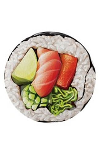 The California Roll Round Towel