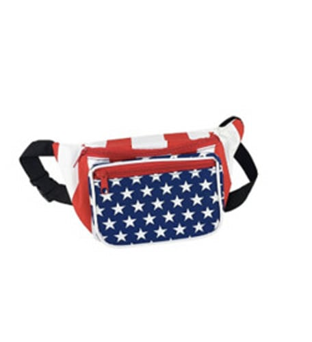 Fourth of July Style Waist Bag