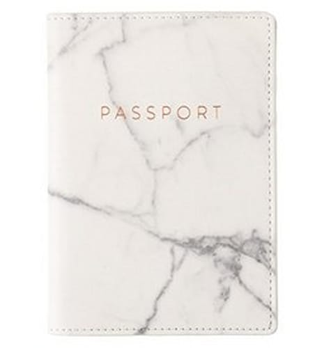 Marble Travel Passport Cover Case