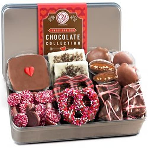 Handmade Chocolate Collection In Gift Tin