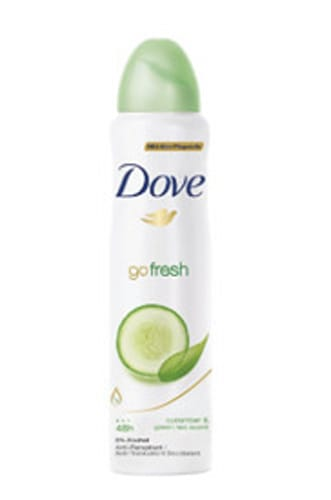 Dove Go Fresh Cucumber & Green Tea Deodorant (6 pack)