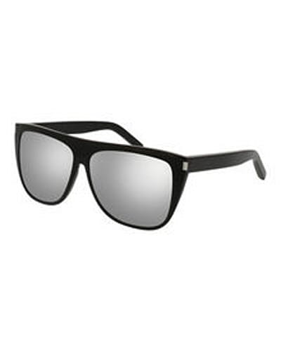 Saint Laurent Mirrored Oversized Sunglasses