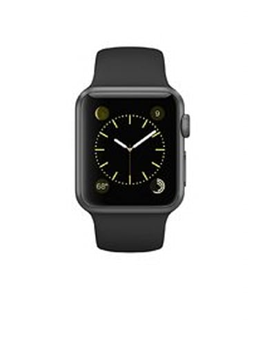 Apple Watch 38mm Aluminum Case Sport