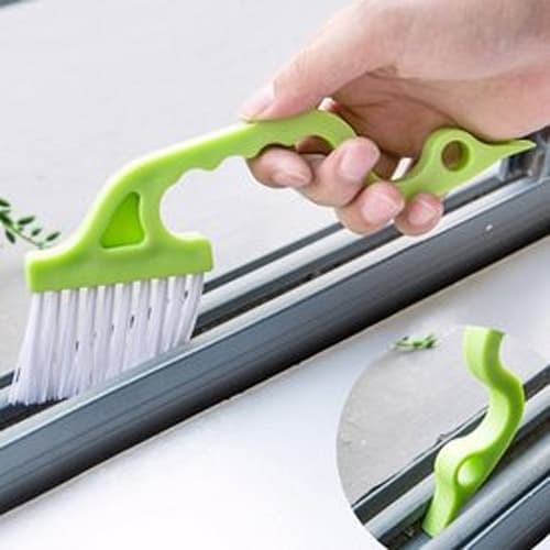 Cleaning Brush for Window and Door Gaps