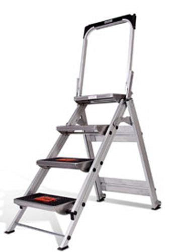 Little Giant Ladder Systems Safety Step Ladder