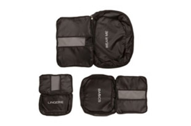Packing Cubes in Black: Set of 3
