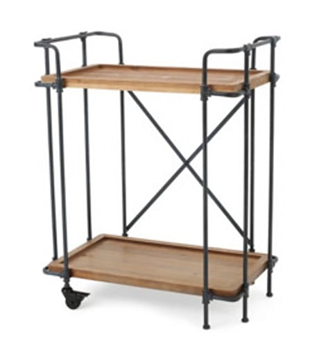 Christopher Knight Home Eden Firwood and Iron Bar Cart