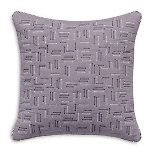 Quilted Voile Decorative Pillow