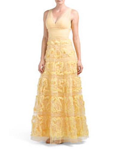 Notte by Marchesa Tulle Gown