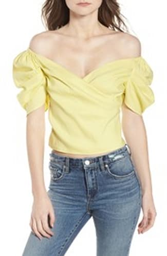 Leith Off the Shoulder Top