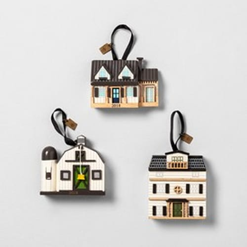 Dollhouse Ornament (Set of 3)