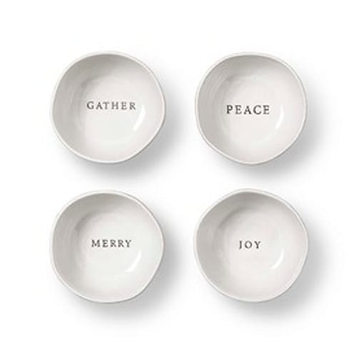 Stoneware Appetizer Plates (Set of 4)