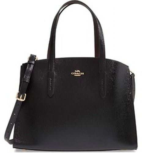 Coach Charlie Patent Leather Tote