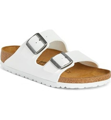 Arizona' White Birko-Flor Sandal
