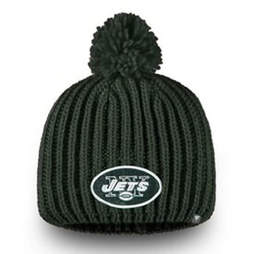 Women s New York Jets NFL Pro Line by Fanatics Branded Green Iconic Ace Knit  Beanie 048036fc053