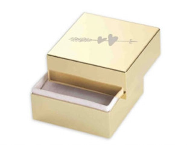 Kate Spade New York Two Hearts Ring Box