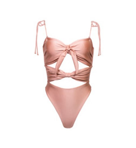 Soah, Magdalena one-piece in rose gold