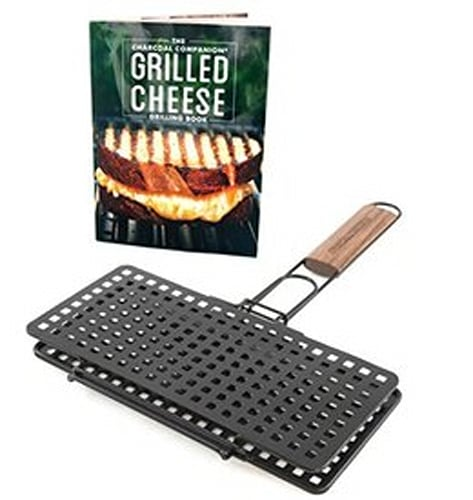 Charcoal Companion Grilled Cheese Press