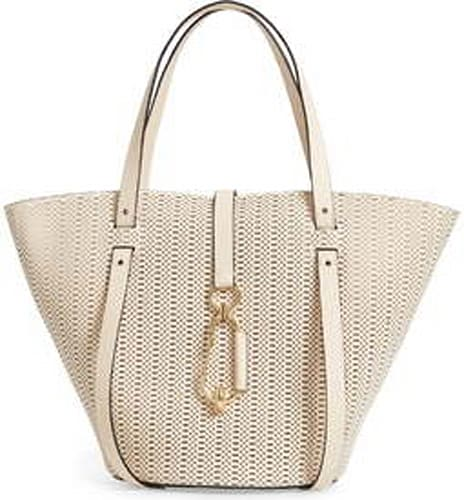 Zac by Zac Posen Belay Perforated Calfskin Leather Tote