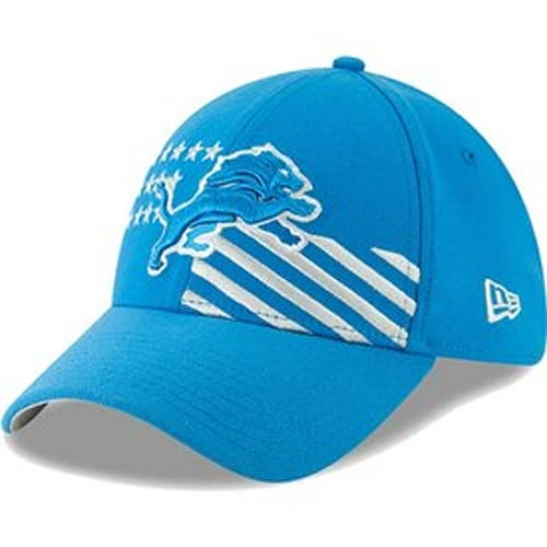 b2bfe6553085d Detroit Lions New Era 2019 NFL Draft On-Stage Official 39THIRTY Flex Hat –  Blue
