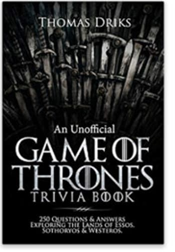 'Game of Thrones' Trivia Book