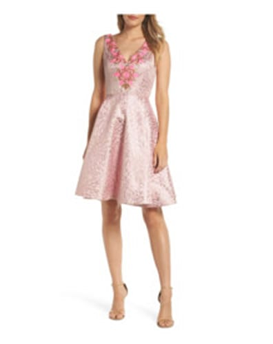 Pink dresses from Nordstrom