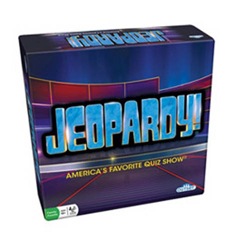 Jeopardy! board game on Amazon