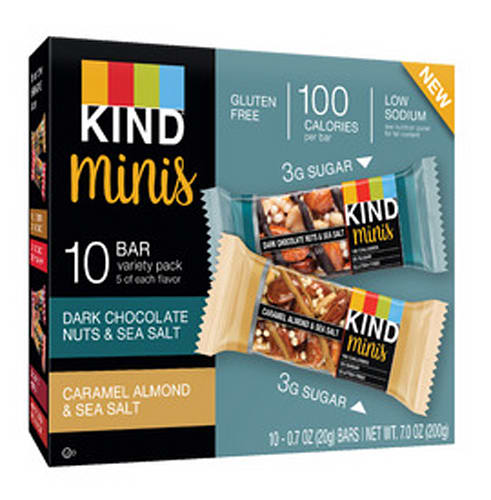 KIND Minis Variety Pack, 10 Count