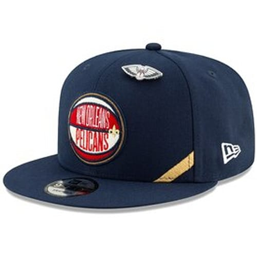 sale retailer f9be5 c8345 New Orleans Pelicans New Era 2019 NBA Draft 9FIFTY Snapback Adjustable Hat  - Navy