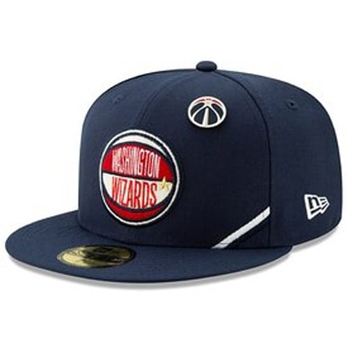 official photos b9b3f f66c5 Washington Wizards New Era 2019 NBA Draft 59FIFTY Fitted Hat - Navy