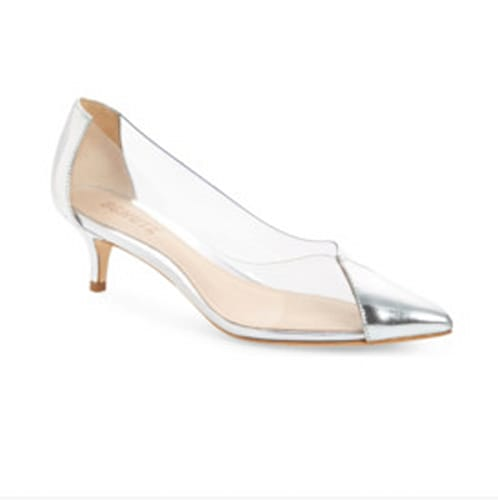 Clear heels on Nordstrom