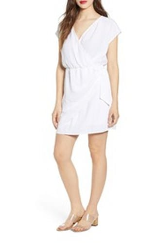 Leith, Wrap Minidress