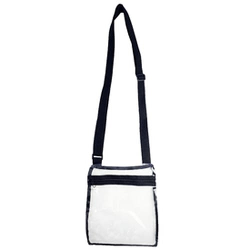Security Approved Clear Cross Body Bag