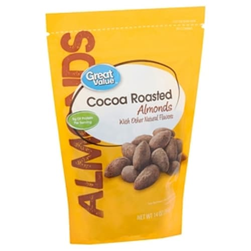Great Value Cocoa Roasted Almonds