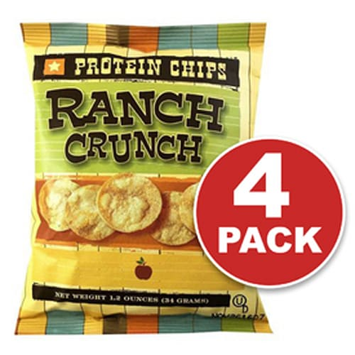 Protein Chips, Ranch, Low Carb Snacks, Low Carb Chips, Keto-Friendly, High Fiber
