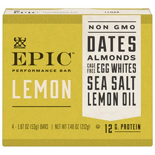 Epic Performance Bars, Lemon