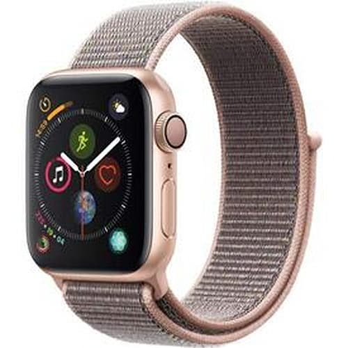 Apple Watch Series 4 (GPS, 40mm) - Gold Aluminium Case with Pink Sand Sport Loop