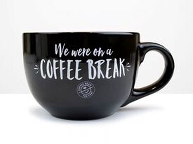 """Limited Edition Central Perk """"We are on a Break"""" Mug"""